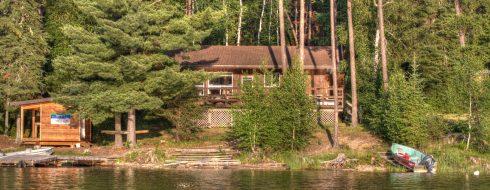 Mercutio Lake cabin and boat shed