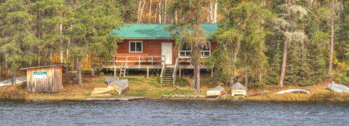 Robinson Lake cabin cover photo